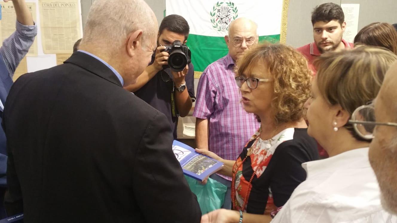 Incontro con Arcivescovo Bellandi al Museo dello Sbarco