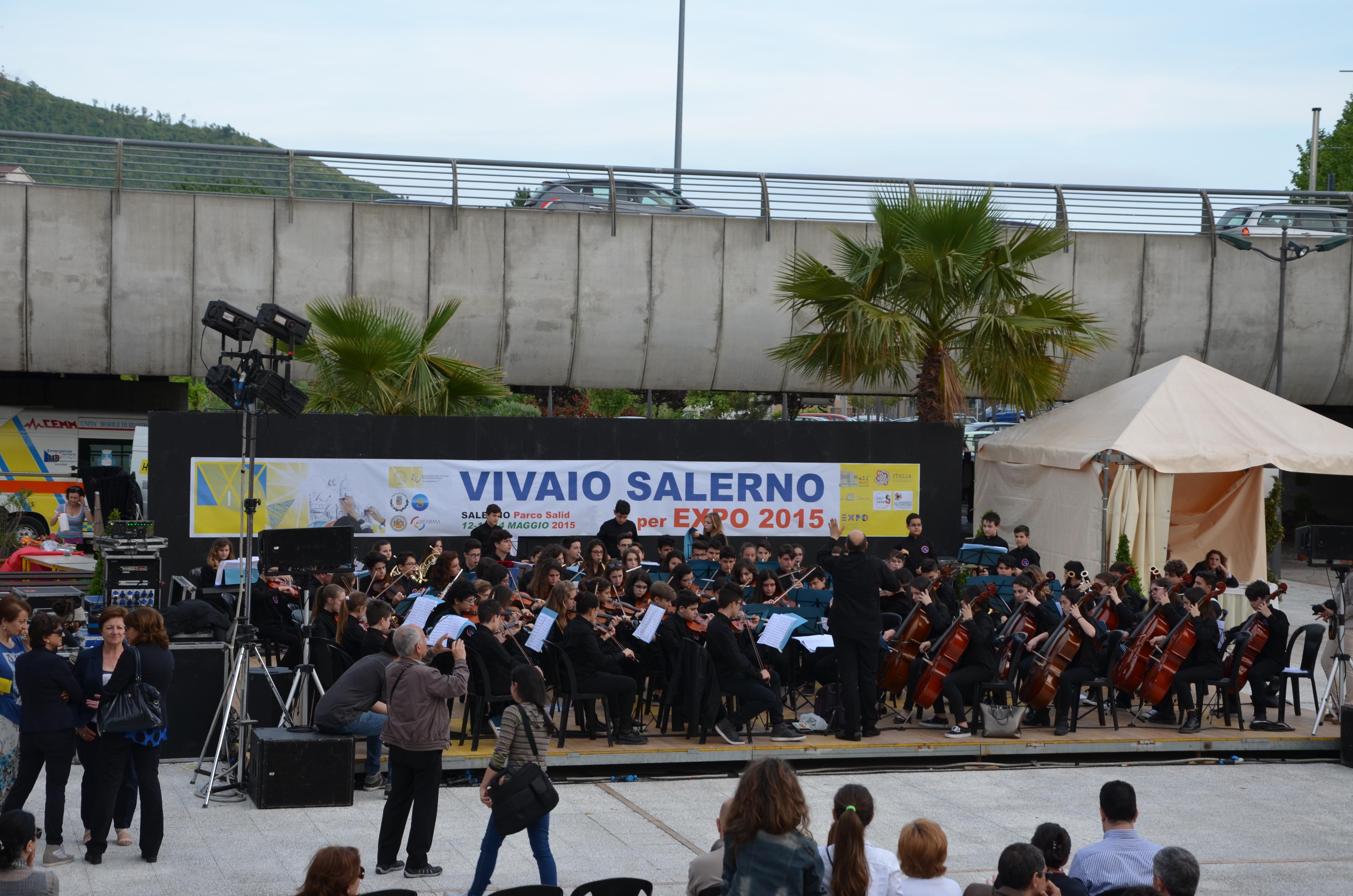 Orchestra Monterisi al Parco Pinocchio di Salerno