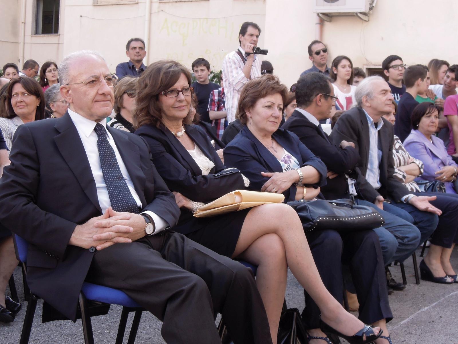 Monterisi è fiera - visita del Presidente V.De Luca e dell'assessore E.Avossa