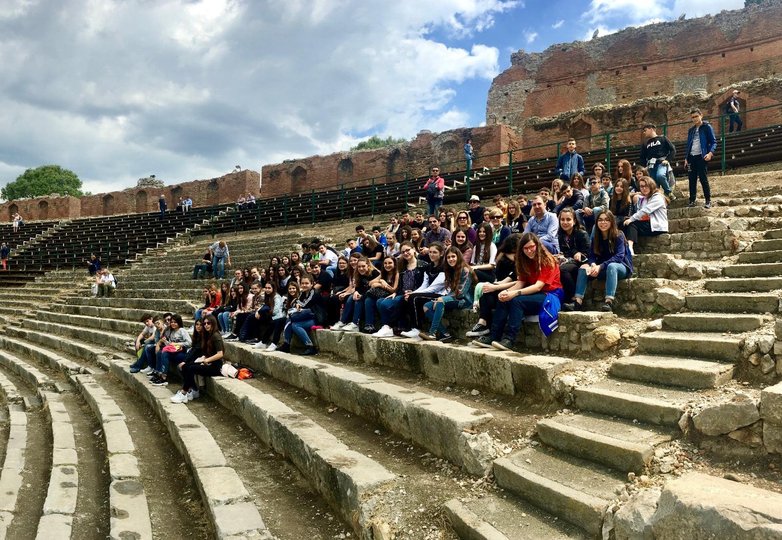 Gita scolastica Taormina 2019