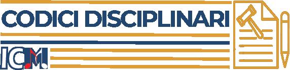 Codici Disciplinari