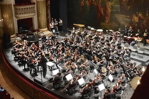 """Orchestra Sinfonica """"Monterisi"""" al Teatro San Carlo di Napoli"""